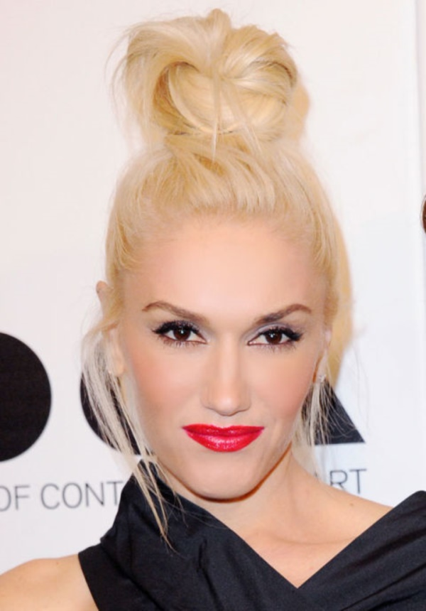 Stunning and Charming Celebrity Bun Hairstyles
