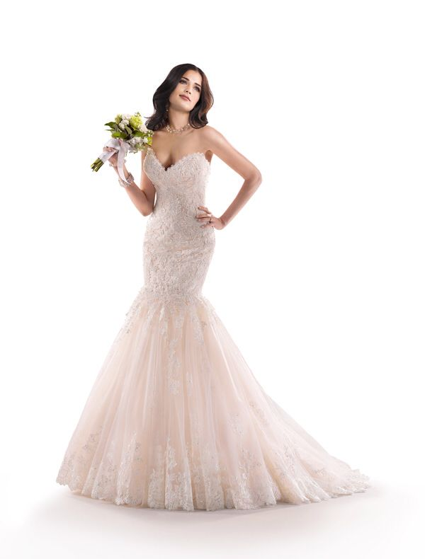 Timeless And Classy Blush Wedding Dresses
