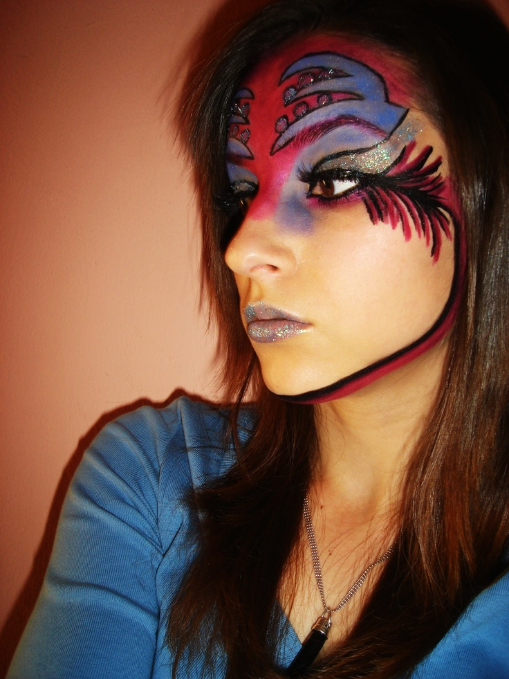 Amazing And Beautiful Halloween Angel Makeup Ideas The