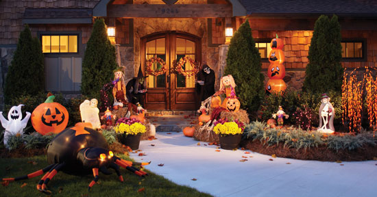 Fall Thanksgiving Wallpaper Free Superlative Halloween Yard Decoration Ideas The Wow Style