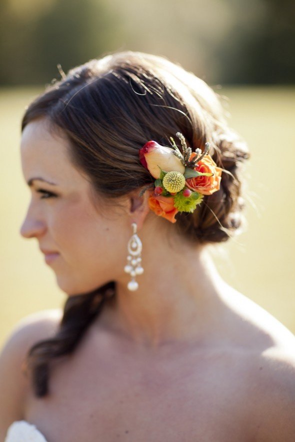 Most Outstanding Simple Wedding Hairstyles