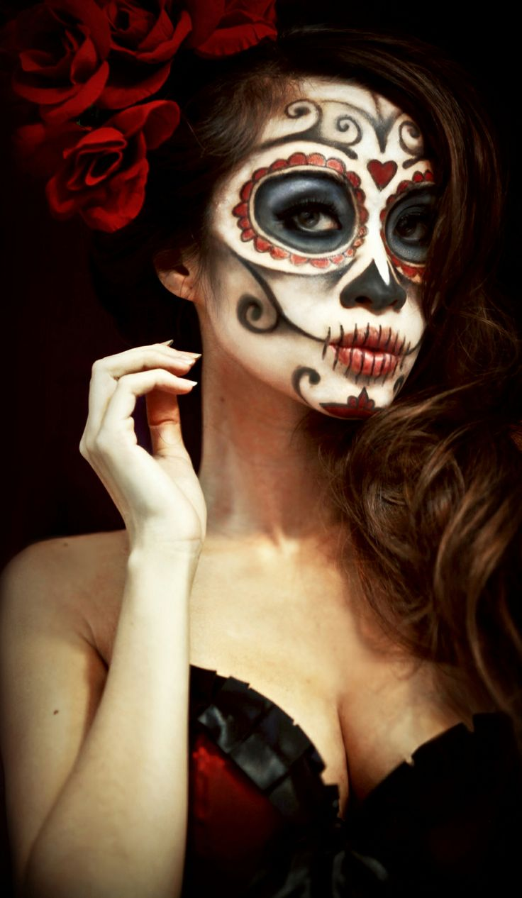Scariest Halloween Makeup For Day of The Dead