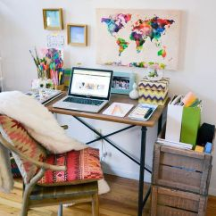 Decorating Ideas To Make A Small Living Room Look Bigger Light Color Comfy And Classy Tropical Home Office Designs