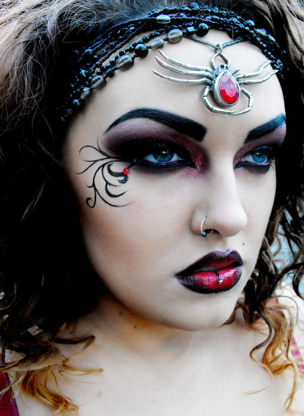 25 Outstanding Halloween Spider Makeup Ideas  The WoW Style