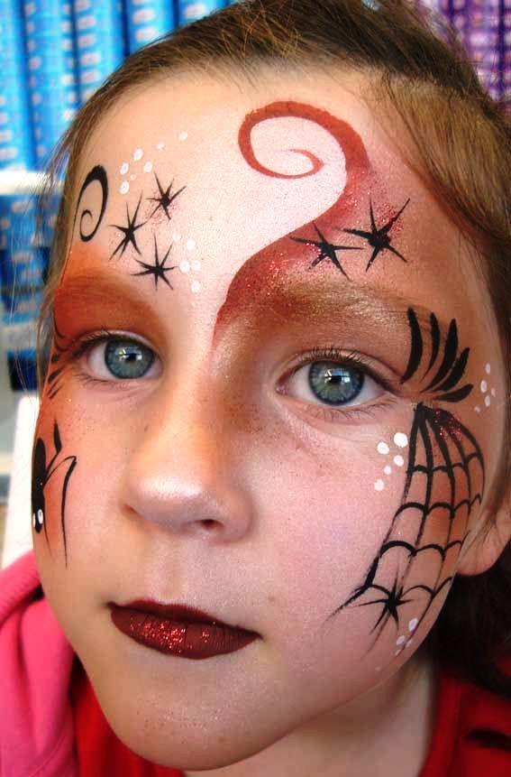 25 Breathtaking Halloween Makeup Ideas For Kids