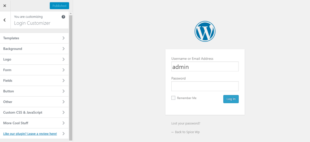 Beginners Guide to Styling the WordPress Login Page using