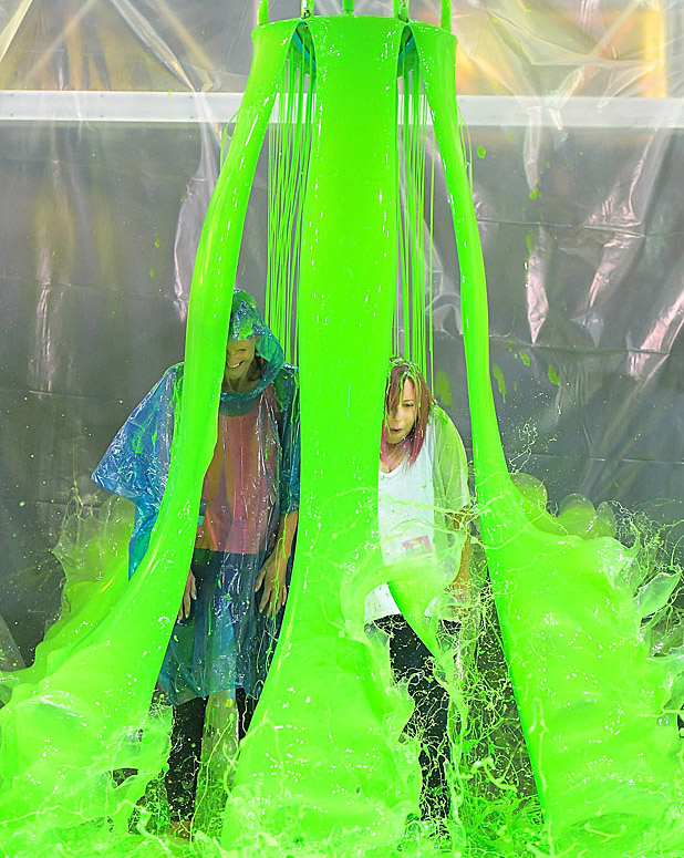 Inside the Nickelodeon 'Kids' Choice Sports Awards' Slime Test...