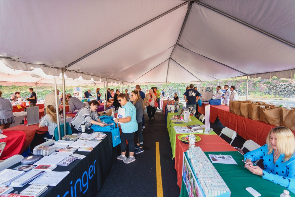 Fall into Health Fair at The Wright Center for Community Health Jermyn Practice on September 22, 2019.