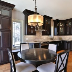 Redesigning A Kitchen Floor Cabinets What To Consider When Your The Wright Modern With Dark Wood And Hardwood Flooring