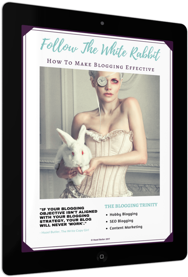 Follow The White Rabbit - How To Make Blogging Effective