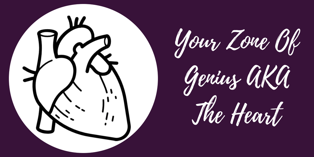 Your Zone Of Genius AKA The Heart - The Anatomy Of A Content Marketing Strategy - Hazel Butler - The Write Copy Girl - Freelance Content Marketer, Copywriter, And Ghostwriter