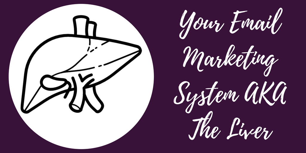 Your Email Marketing System AKA The Liver - The Anatomy Of A Killer Content Marketing Strategy - Hazel Butler - The Write Copy Girl - Freelance Content Marketer, Copywriter, And Ghostwriter