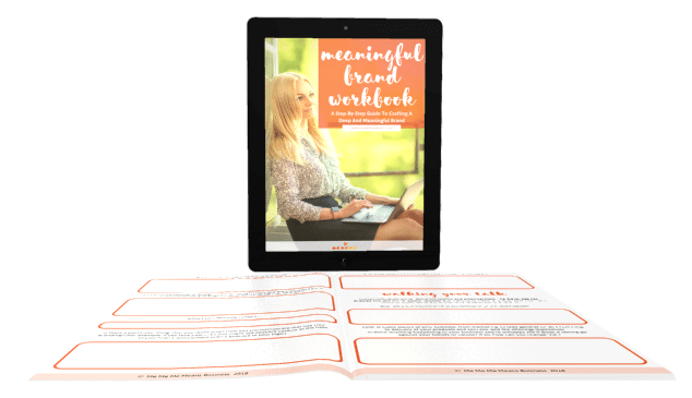 MeMeMe - Meaningful Brand Workbook