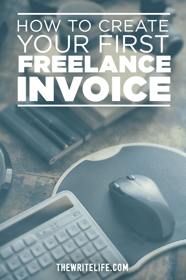 how to make an invoice for freelance work