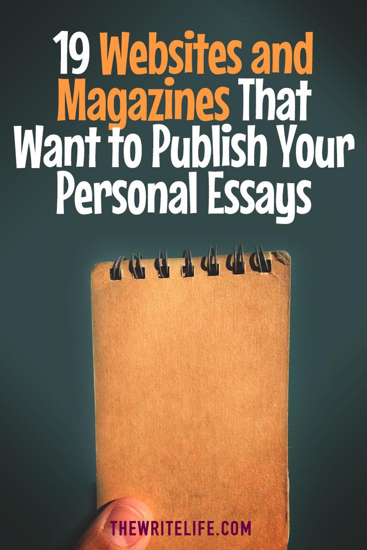 personal essays