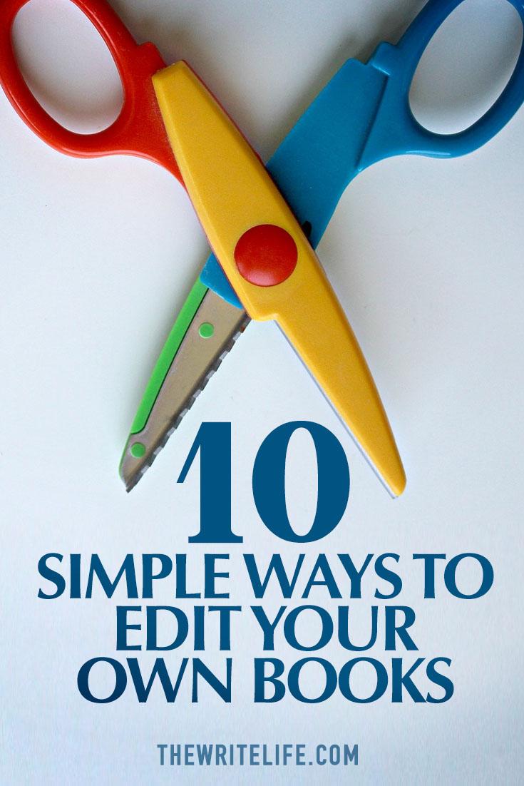 edit books