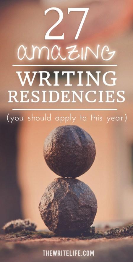 writing residencies