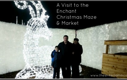 A Visit to the Enchant Christmas Maze & Market