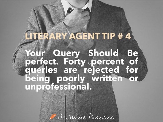 literary agent tips your query should be perfect