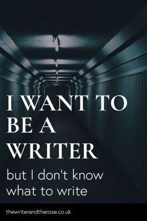 You want to be a writer, but you don't know what to write about. Are you staring at a blank page? Read on to find out what the real problem is.