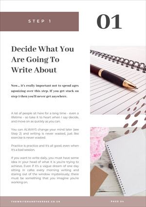 Daily Writing Habit Guide - Page 4