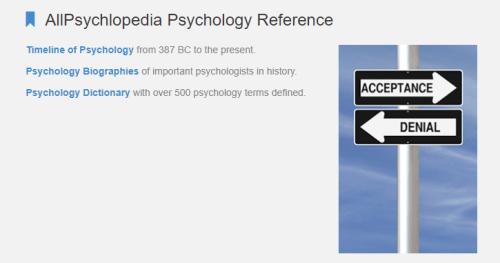 قسم AllPsychlopedia Psychology Reference أهم أقسام تعلم علم النفس للمبتدئين