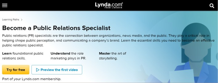 مساق Become a Public Relations Specialist أفضل كورس علاقات عامة