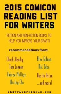 Comicon reading list for writers