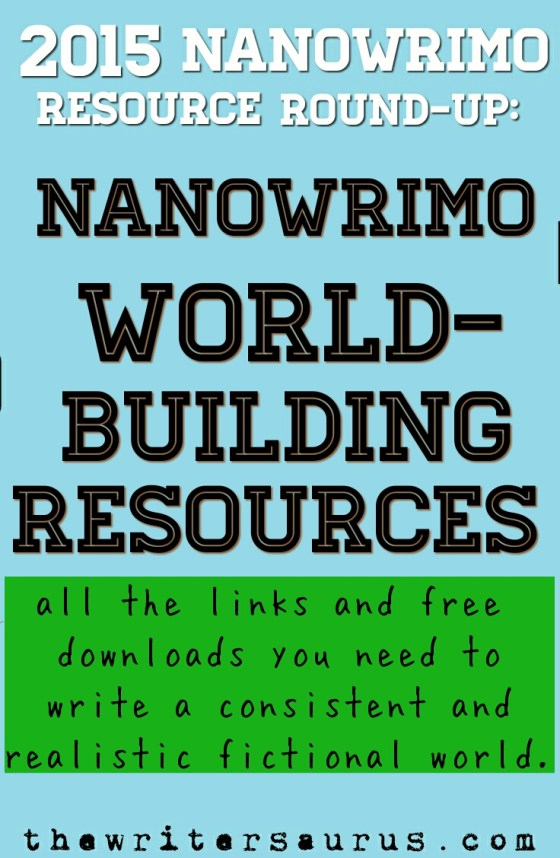 NaNoWriMo World Building Resources
