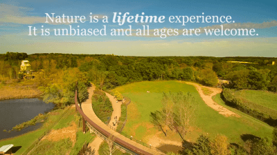 Minnesota Zoo Funding Proposal Video - Nature is a lifetime experience quote by The Writer's Ink