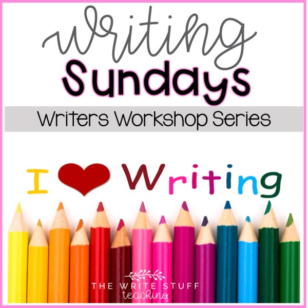 Writing Sundays Writers Workshop Series