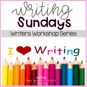Writing Sundays Writers Workshop Series
