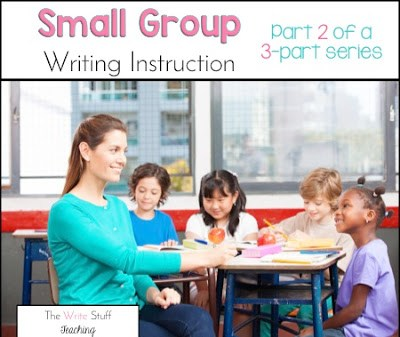 Small group Writing instruction
