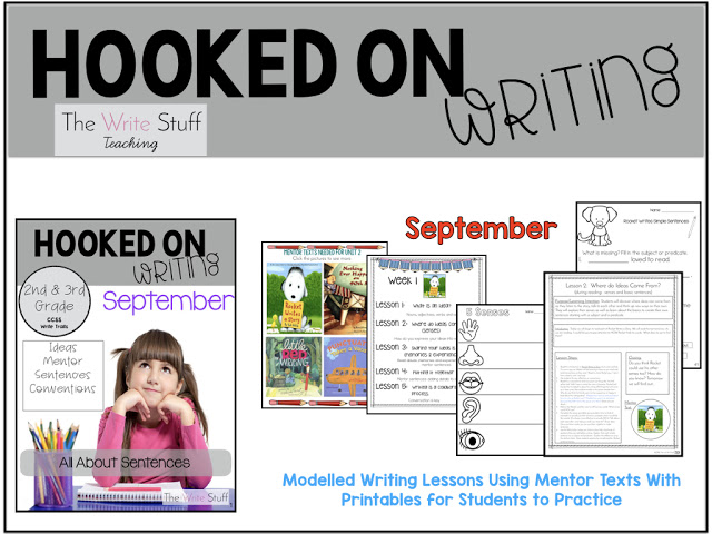 writers workshop lessons