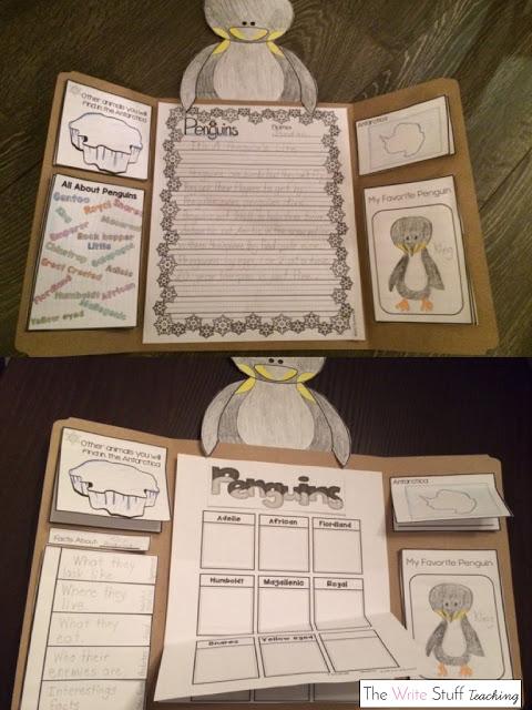 Penguin lap book