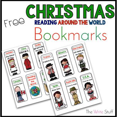 Christmas Around the world bookmarks
