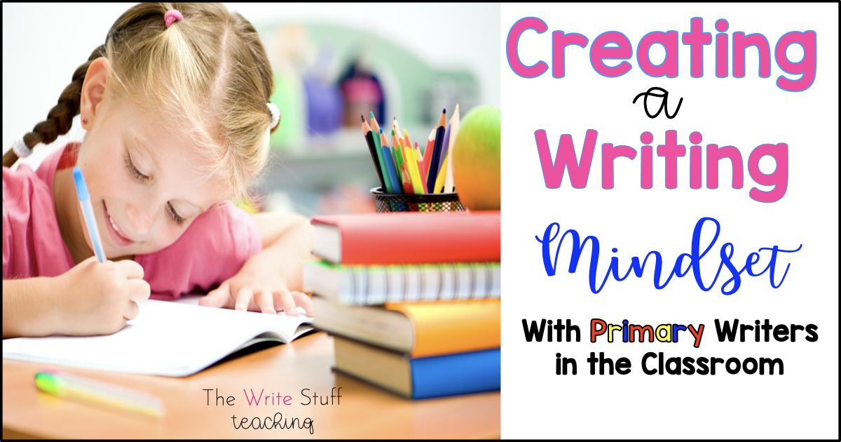 Writers Workshop Mindset