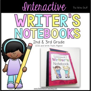 Interactive Writer's Notebooks (2nd 7 3rd grade)