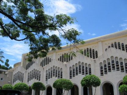 Facade of Baclaran Church