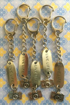 The key-chains in full view
