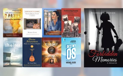 Photo: books edited by Elana and/or written with her coaching and inspiration