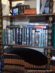 Bookshelf, Makeshift Foot Rest