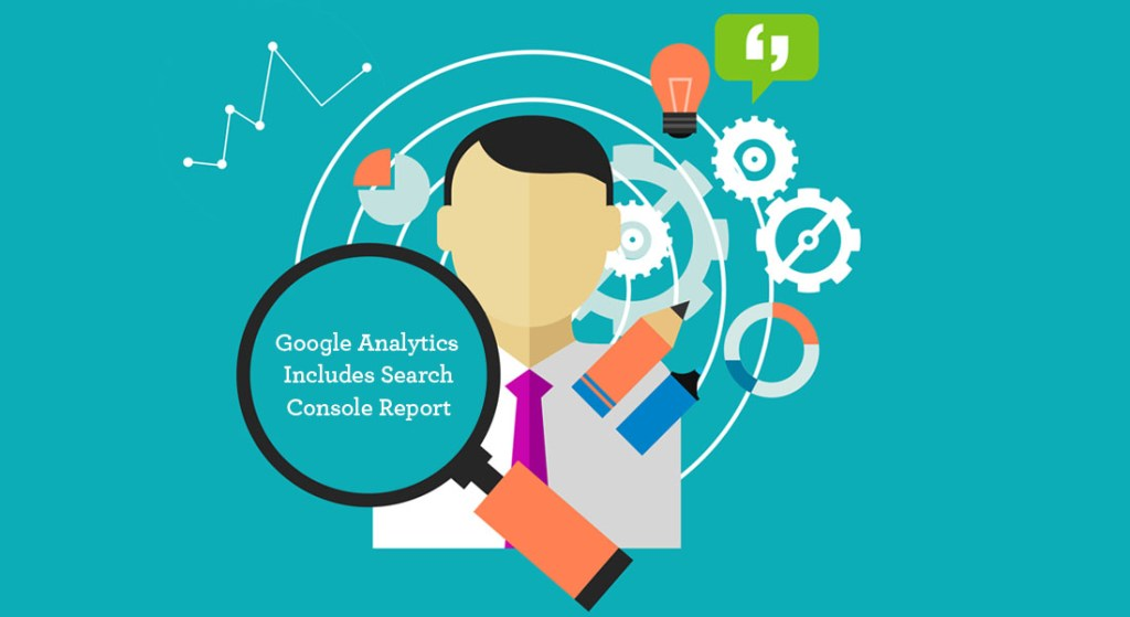 Google Analytics Includes Search Console Report
