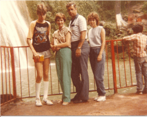 Mexico. 1983. Mr. Personality is on the left.