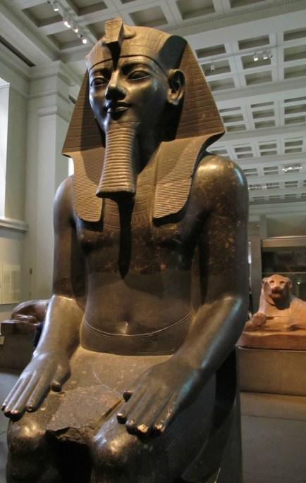 Pharaoh at the British Museum