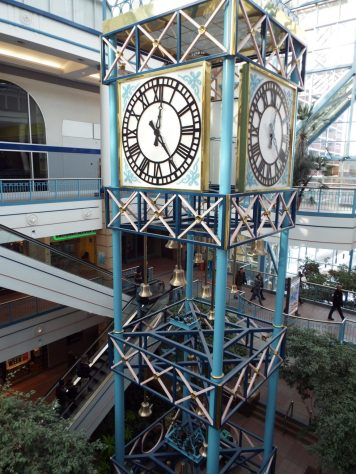 Clocktower at Portage Place mall