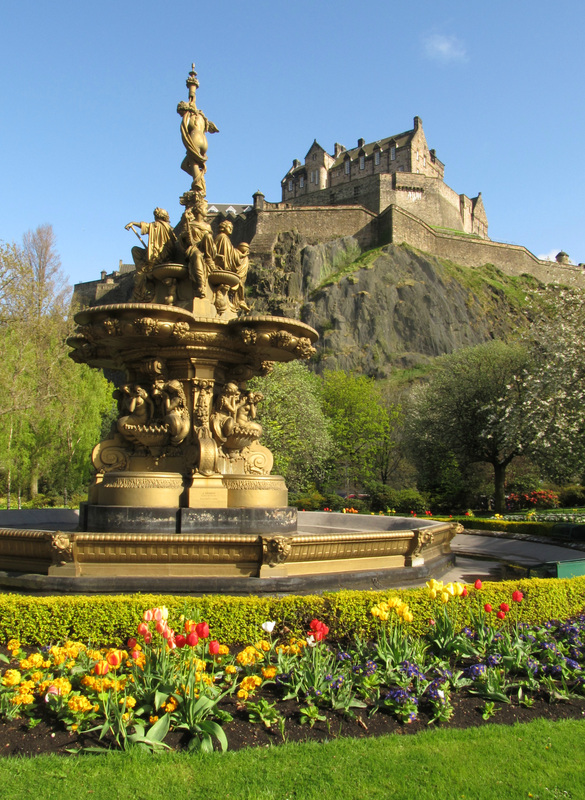 edinburgh destination princes street gardens