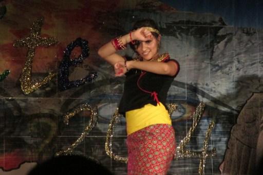 Dancer at Nepal Nite