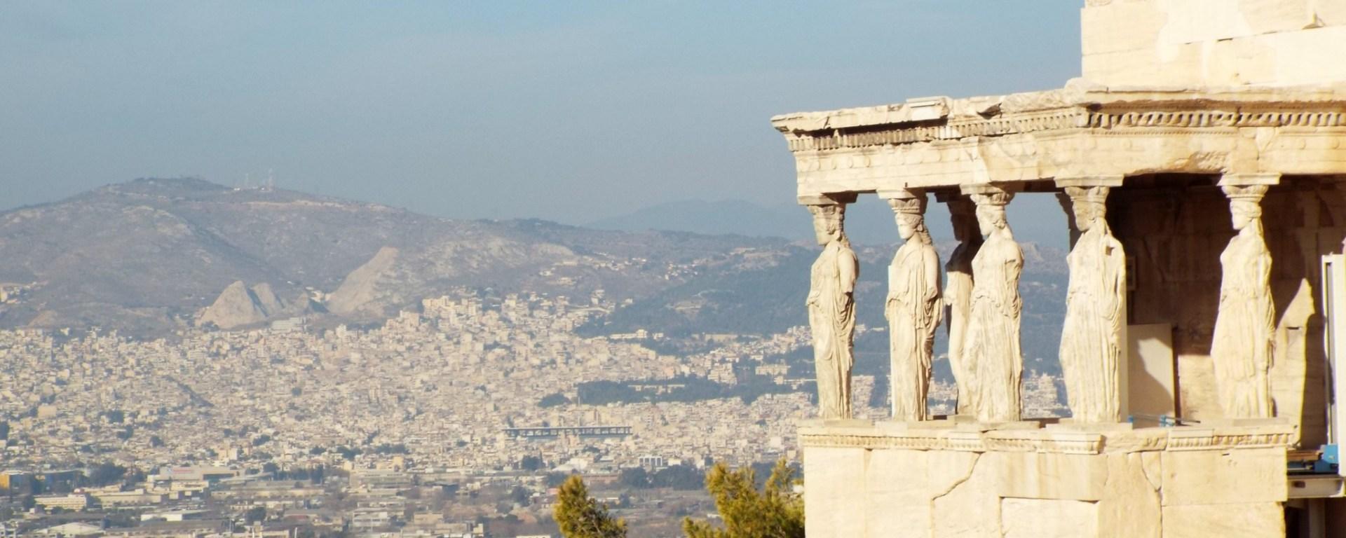 The Erichtheion, Acropolis, Athens