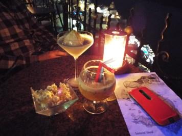 PK bar in Santorini